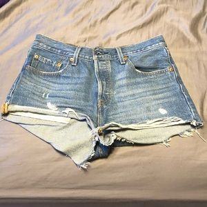 Levi's 501 high rise. Size 26.
